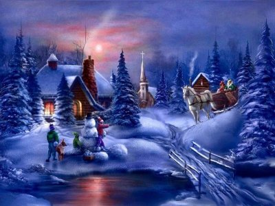 Новый год в Подмосковье