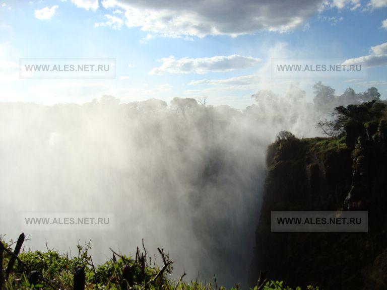 пыль водопада