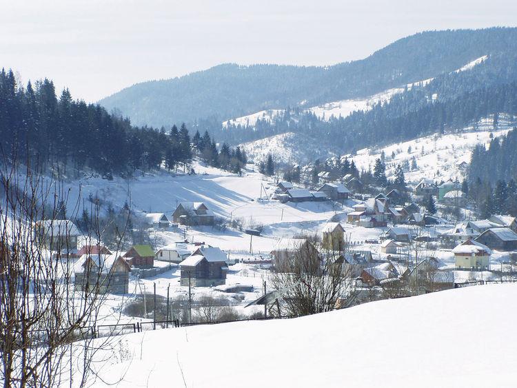 Яремче горнолыжный курорт в